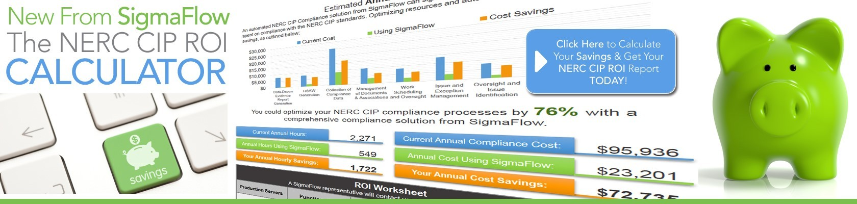 NERC CIP ROI Calculator