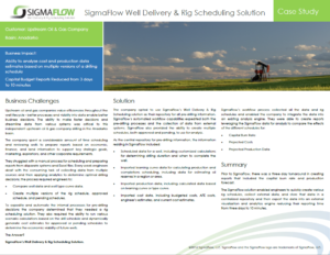 Anardarko Basin Customer Case Study
